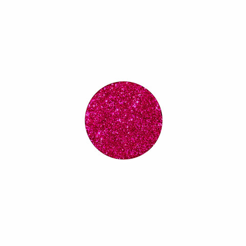 Sinfully Strawberry Magenta Glitter Pressed Pigment Eyeshadow