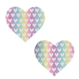 Pillow Talk Pastel Glitter I Heart U Nipztix