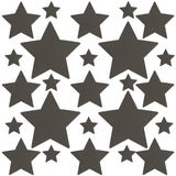 Reflective Star Stickers for Rave, Neva Nude