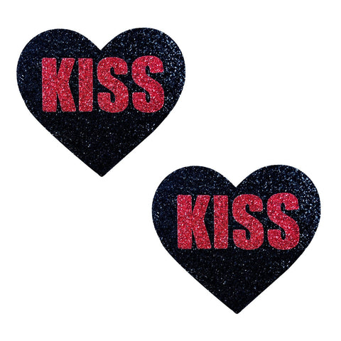 Kiss Valentines Day Nipple Pasties, Neva Nude