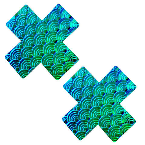 mermaid X nipple covers, Neva Nude