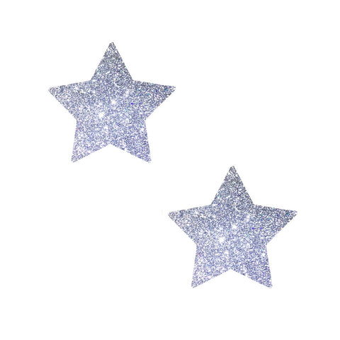 Small glitter nipple pasties, Neva Nude