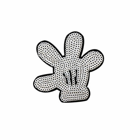 Mickey Mouse hand patch, FabStix