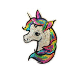 Sequin unicorn Iron On Patch Sticker- FabStix