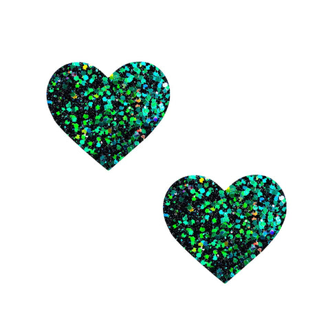 green glitter small pasties, Neva Nude