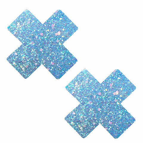 Super Sparkle Party Blue Glitter X Nipztix