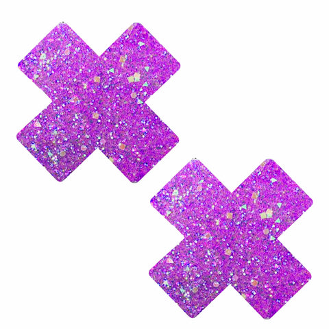 Super Sparkle Party Purps Glitter X Nipztix