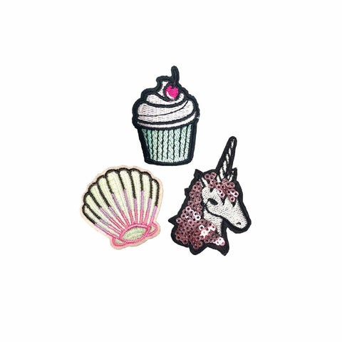 Unicorn patch sticker, FabStix