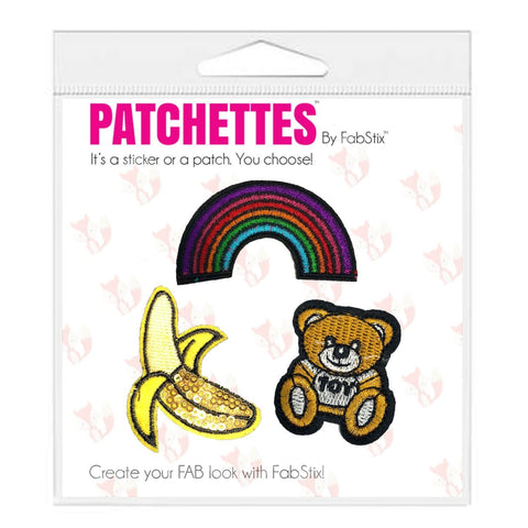 Cute iron on patch sticker, FabStix