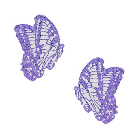 purple butterfly rave pasties, Neva Nude