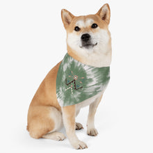 Load image into Gallery viewer, Sage Tie Dye Pet Bandana Collar