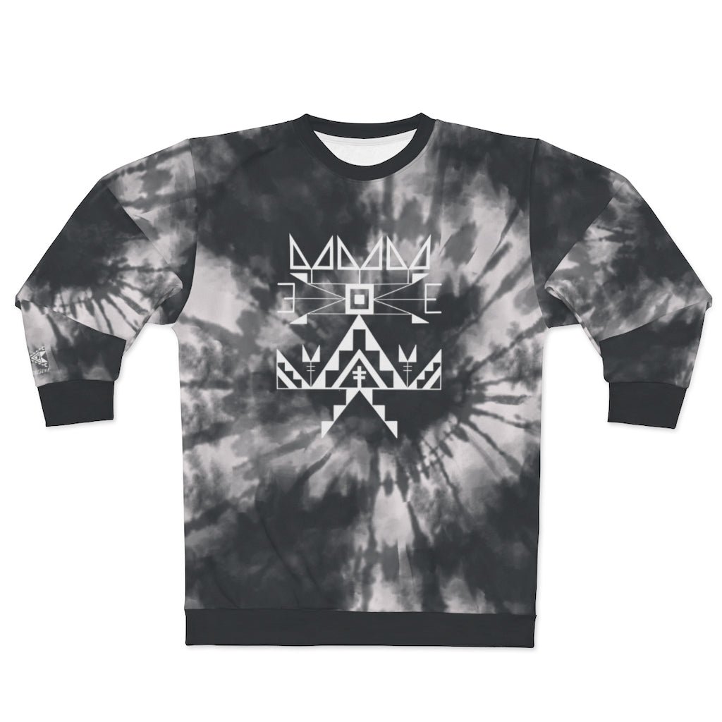 Midnight Tie Dye Crew Adult Sweatshirt