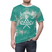Load image into Gallery viewer, Turquoise Tie Dye Adult Tee
