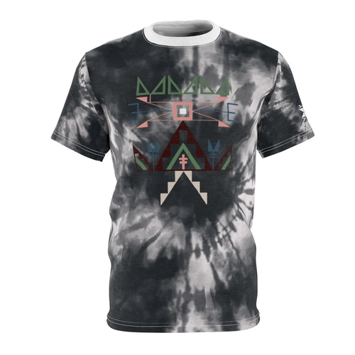 Lakota Design Midnight Tie Dye Adult Tee