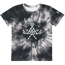 Load image into Gallery viewer, Kids Midnight Tie Dye Crew Tee