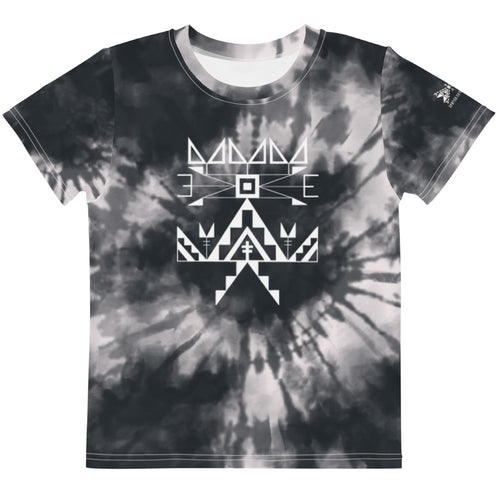 Kids Midnight Tie Dye Crew Tee