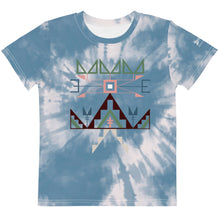 Load image into Gallery viewer, Lakota Spring Kids Sioux Blue Tie Dye Crew