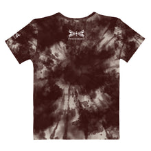 Load image into Gallery viewer, Dragonfly Fire Tie Dye Women's Tee-Maroon