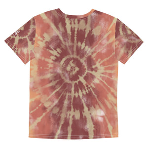 Youth Sunrise Tie Dye Crew Tee