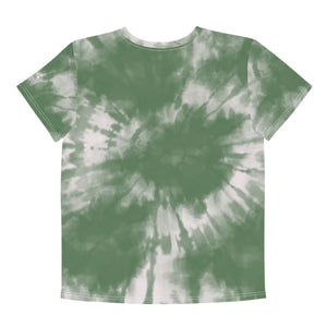Lakota Design Youth Sage Tie Dye Crew Tee