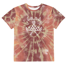 Load image into Gallery viewer, Youth Sunrise Tie Dye Crew Tee