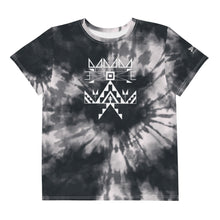 Load image into Gallery viewer, Youth Midnight Tie Dye Crew Tee