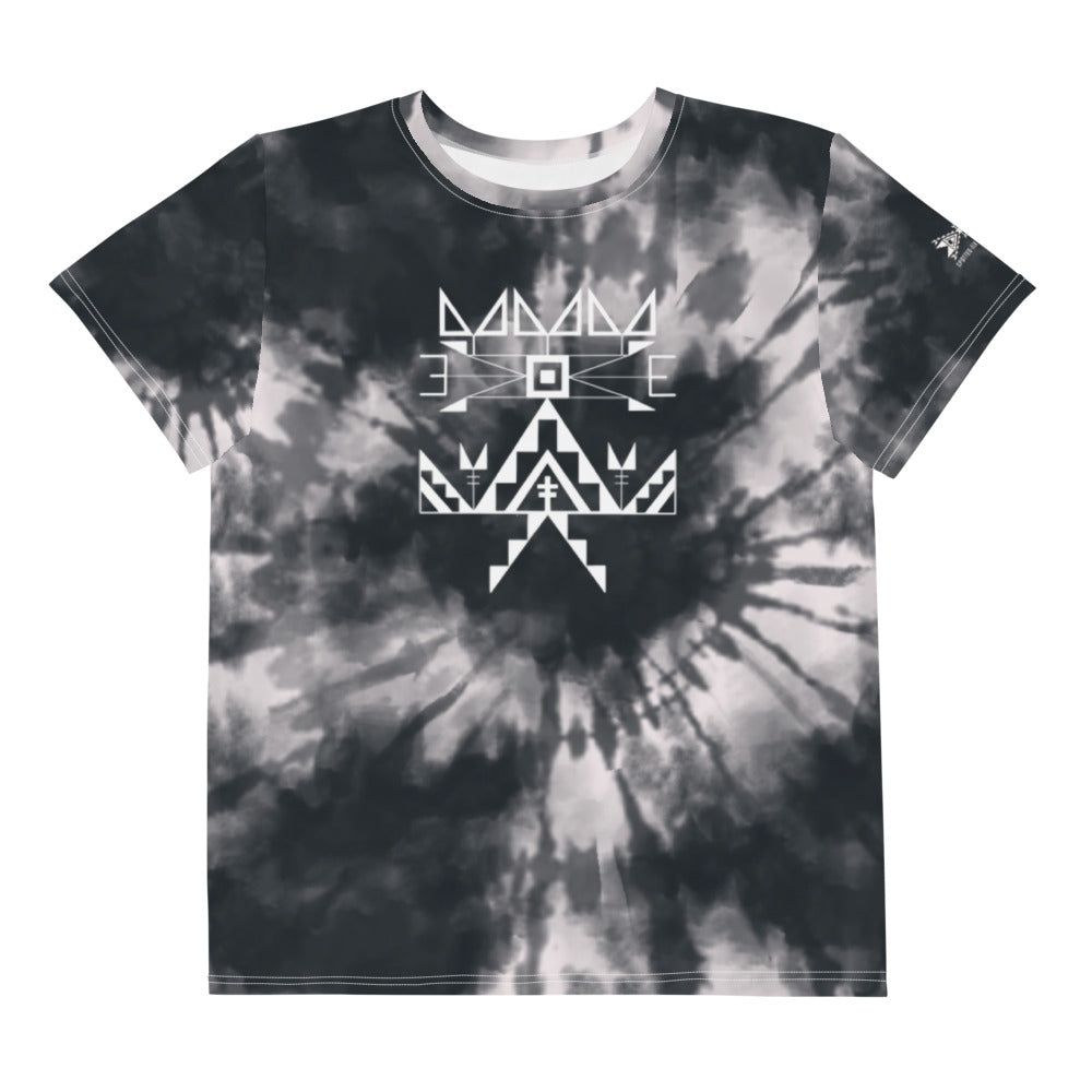 Youth Midnight Tie Dye Crew Tee