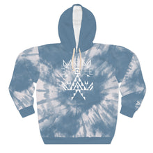 Load image into Gallery viewer, Sioux Blue Tie Dye Adult Hoodie