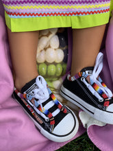 Load image into Gallery viewer, Custom Beaded Toddler Converse Shoes
