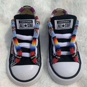 Custom Beaded Toddler Converse Shoes