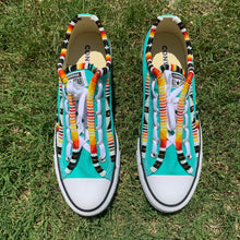 Load image into Gallery viewer, Custom Beaded Converse Shoes - Twin Style