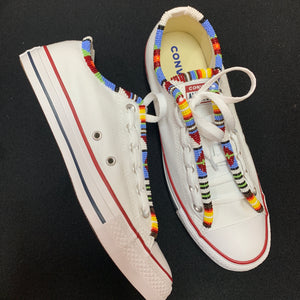 Custom Beaded Converse Shoes- Original Style