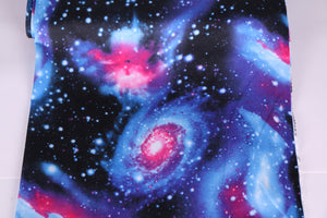 galaxy print scuba fabric for lingerie making