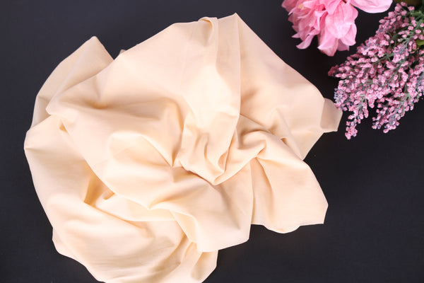 Beige Swimwear Lining Fabric