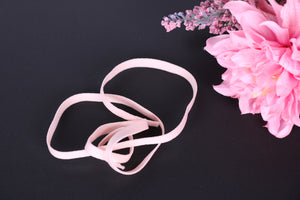pink channeling. pink bra wire casing. Bra Making Elastic