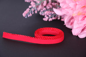 11 mm Red Picot Elastic