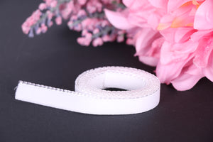 13 mm White Picot Elastic