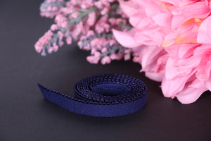 11 mm Navy Picot Elastic