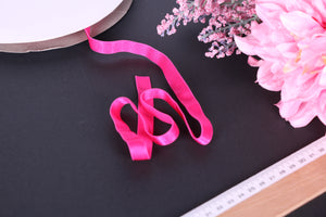 Hot Pink Strap Elastic 12mm