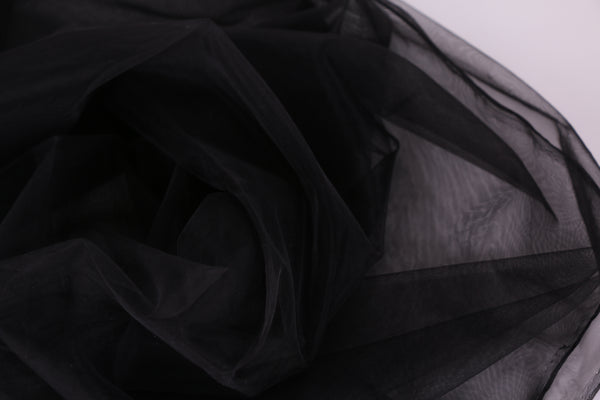 black net fabric tulle fabric