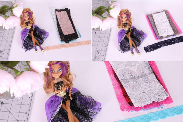 dolls lingerie lace grab bag