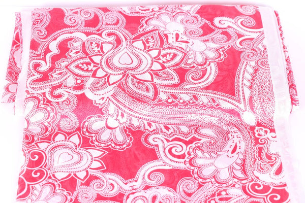 paisley net fabric
