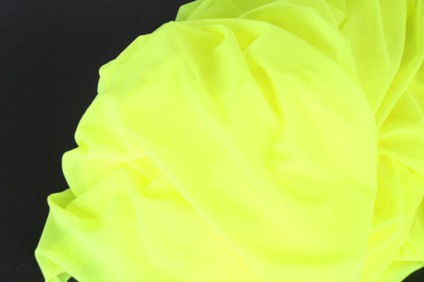 neon yellow mesh fabric