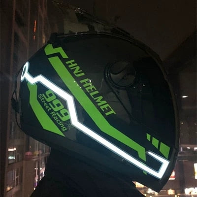 Night Safety Helmet LED Stripe