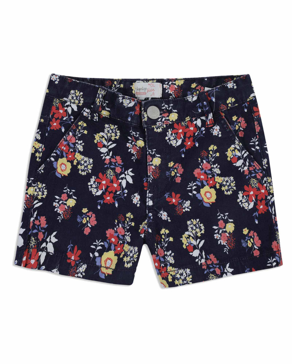 Short Estampado Niña Azul