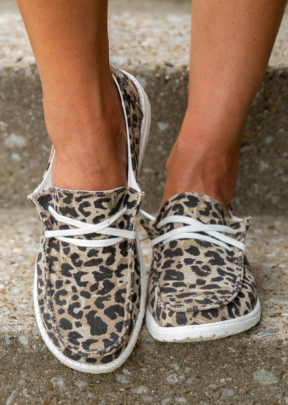 Cheetah sneakers