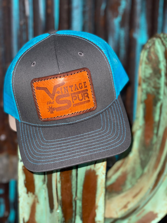 Vintage Spur Leather Patch Hat