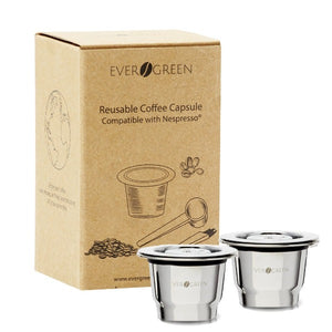 Evergreen™ Reusable Capsule for Nespresso® - Evergreen Capsules