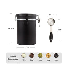 Load image into Gallery viewer, Stainless Steel Container with Date Tracker and CO2 valve - Evergreen Capsules