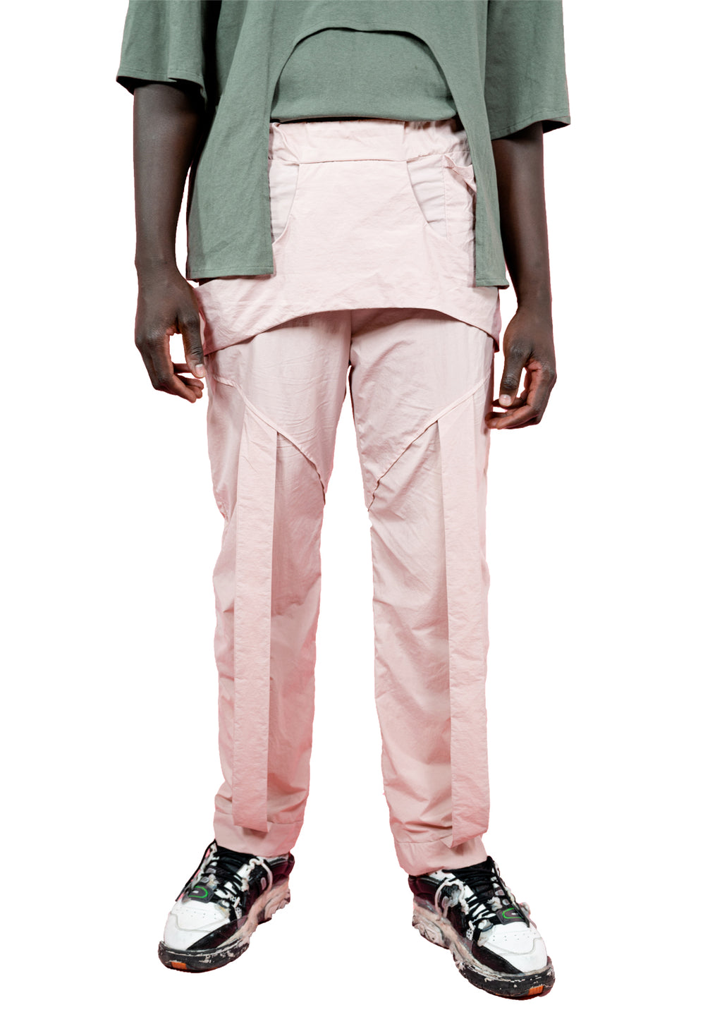 JOGGER PANTS PINK POWDER